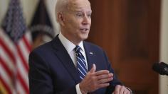 DC: President Biden hosts first presidential press conference