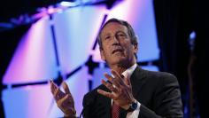 Mark Sanford speaks at the LPAC conference in Chantilly, Virginia