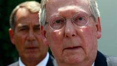 Mitch McConnell and John Boehner