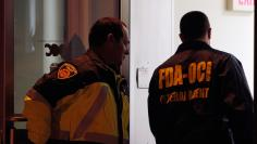 Federal agents search New England Compounding Center in Framingham, Massachusetts