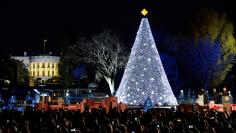 President Obama participates in the Annual Christmas Tree Lighting