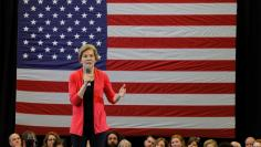 Potential 2020 Democratic presidential candidate Warren speaks in Manchester