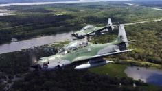 Embraer A-29 Super Tucano aircraft