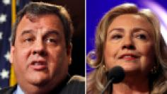 Hillary Clinton and Chris Christie