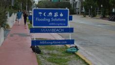 Miami Beach flooded
