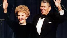 FILE PHOTO OF RONALD REAGAN AND WIFE NANCY.