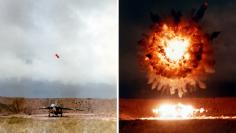 Tomahawk missile test