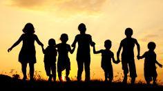Children in shadow
