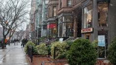13 (tied). Newbury Street in Boston