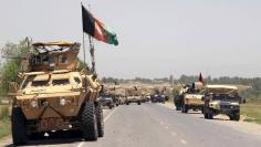 Afghan forces prepare for battle with Taliban on the outskirts of Kunduz city, northern Afghanistan