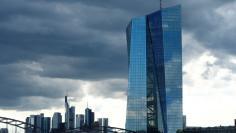 FILE PHOTO: The European Central Bank (ECB) headquarters in Frankfurt