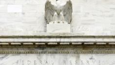 The U.S. Federal Reserve building is pictured in Washington