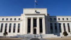 FEDERAL RESERVE BUILDING IN WASHINGTON DC.