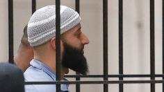 Convicted murderer Adnan Syed arrives at the Baltimore City Circuit Courthouse in Baltimore, Maryland