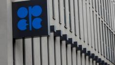 FILE PHOTO: The logo of the Organization of the Petroleum Exporting Countries (OPEC) is pictured at its headquarters in Vienna, Austria September 21, 2017.   REUTERS/Leonhard Foeger