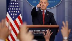 EPA's Pruitt takes questions about the Trump administration's withdrawal of the U.S. from the Paris climate accords during the daily briefing at the White House in Washington