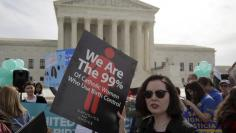The Supreme Court is pictured in Washington March 9, 2015. The Supreme Court on Monday threw out an appeals court decision that went against the University of Notre Dame over its religious objections to the Obamacare health law?s contraception requirement