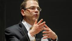 Narayana Kocherlakota, President of the Federal Reserve Bank of Minneapolis, speaks at the ninth annual Carroll School of Management Finance Conference at Boston College in Chestnut Hill, Massachusetts June 5, 2014.   REUTERS/Brian Snyder