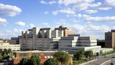 The John H. Stroger, Jr. Hospital of Cook County, Chicago, U.S is pictured in this handout photo