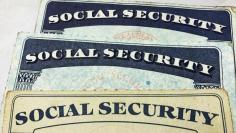 U.S. Social Security card designs over the past several decades