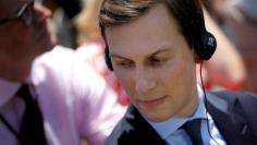 FILE PHOTO - U.S. Senior advisor Jared Kushner attends a joint statement from U.S. President Donald Trump and South Korean President Moon Jae-in in the Rose Garden of the White House in Washington, U.S., June 30, 2017. REUTERS/Carlos Barria/File Photo
