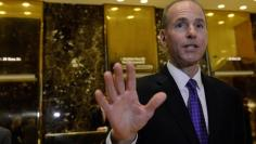 Dennis Muilenburg, CEO of The Boeing Company, arrives at Trump Tower in New York City, U.S. January 17, 2017. REUTERS/Stephanie Keith