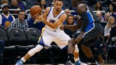 NBA: Golden State Warriors at Orlando Magic