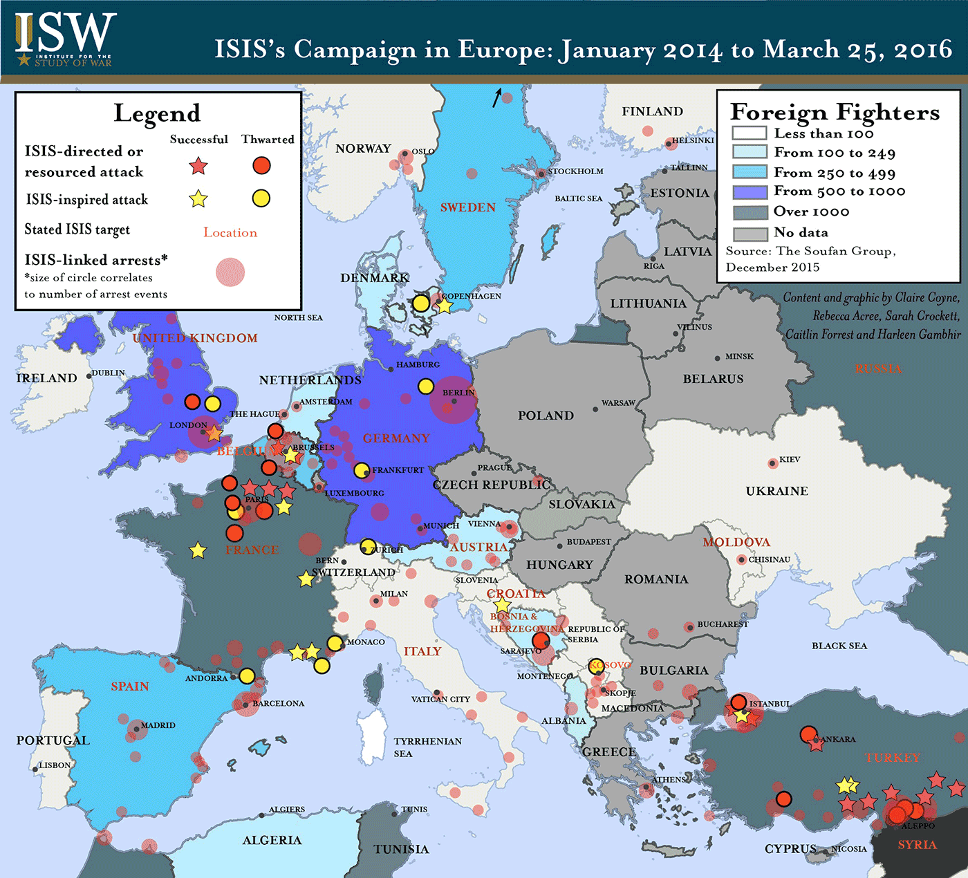 ISIS's Objectives in Europe
