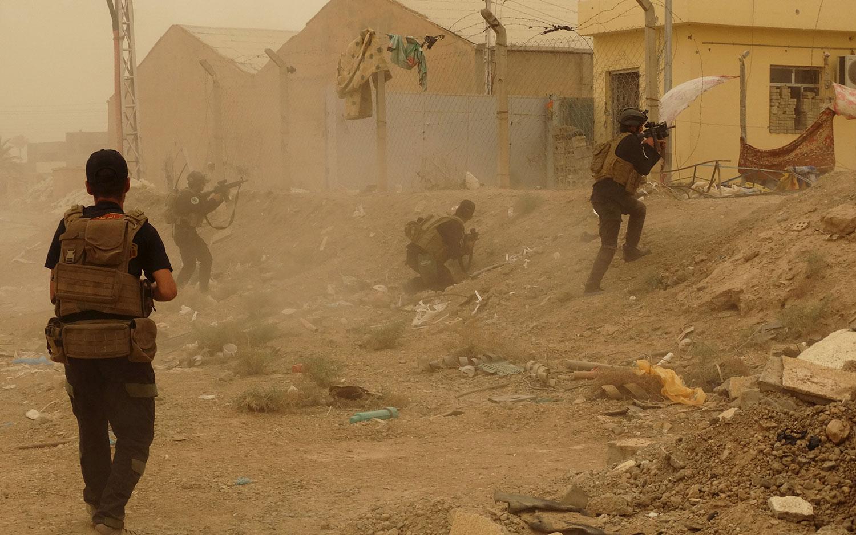 ISIS in Ramadi, Iraq