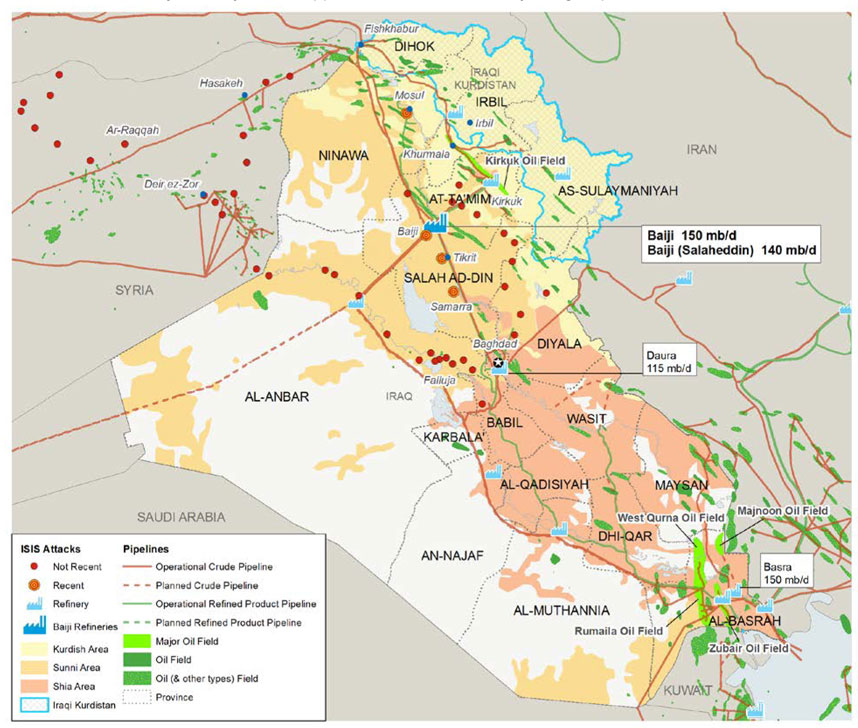 The Map That Shows How to Save Iraq | The Fiscal Times
